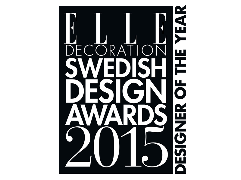 Elle Decoration Award 2015 - Designer of the year