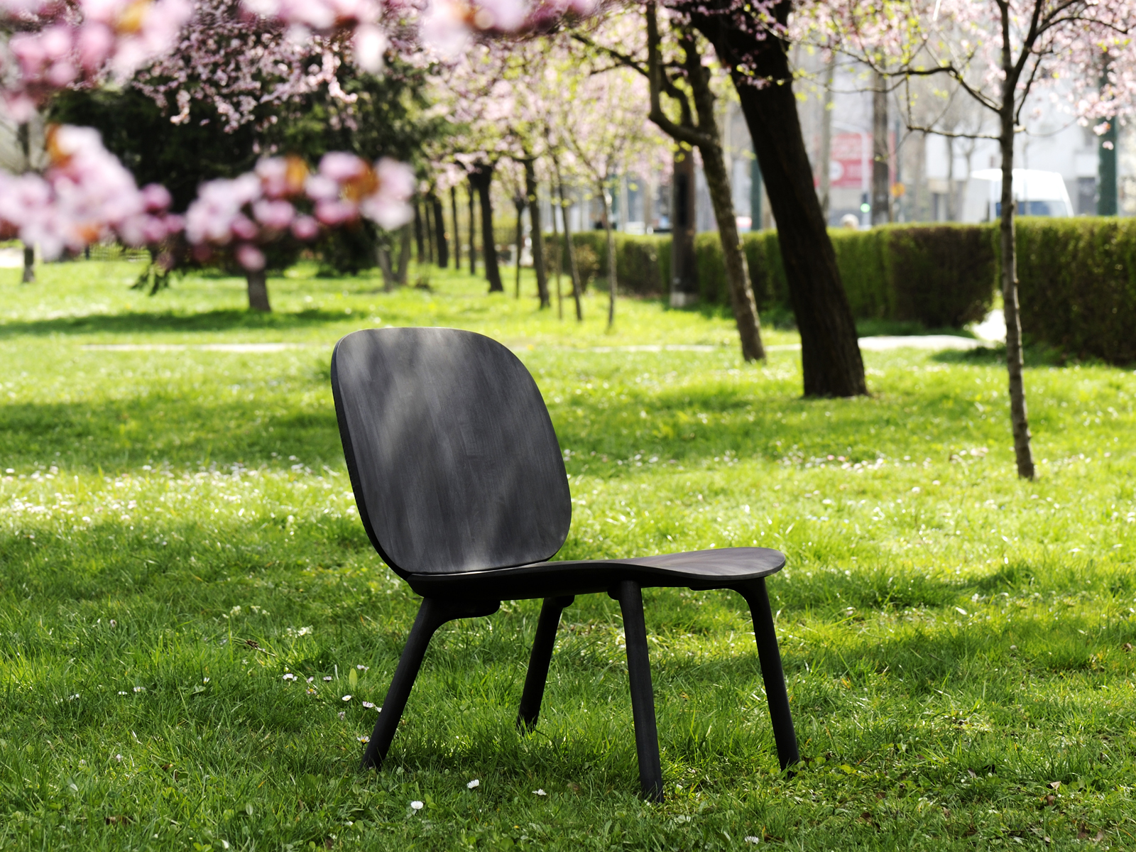 Unna lounge chair for Zanat - Exhibiting at Zanat, Salone del Mobile Milano, Hall10 StandE18