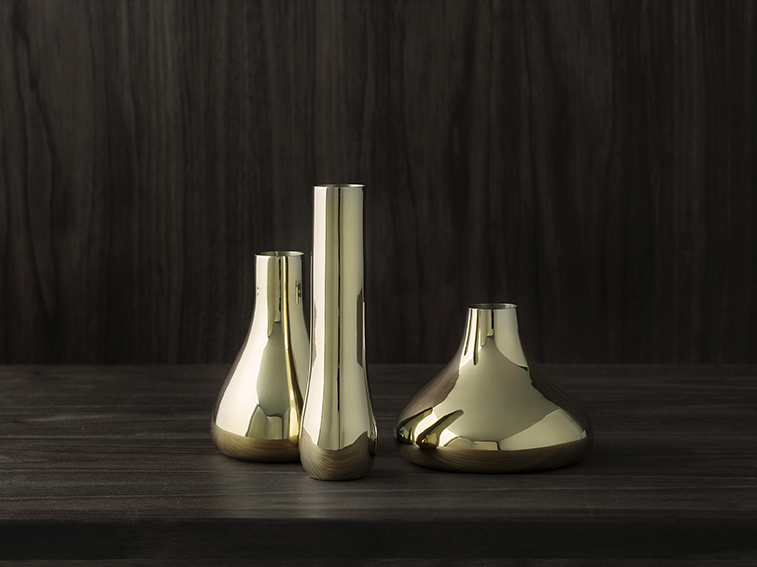 Bon Bon vases for Skultuna - Exhibiting at Skultuna Concept Store, Grev Turegatan 18, Stockholm