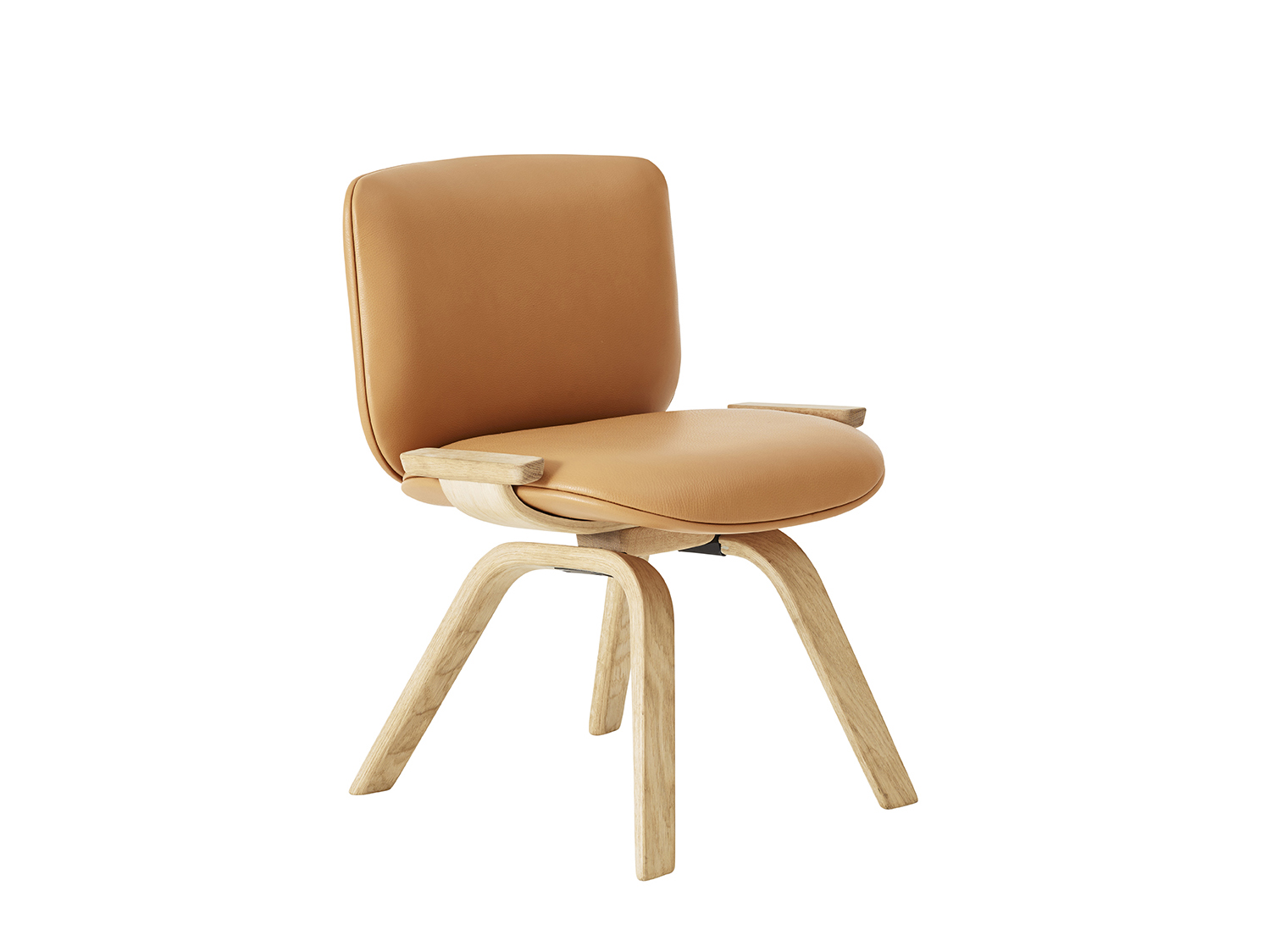 Guest chair for Swedese - Exhibiting at Swedese, Milan Furniture Fair, Hall 16, Stand E26