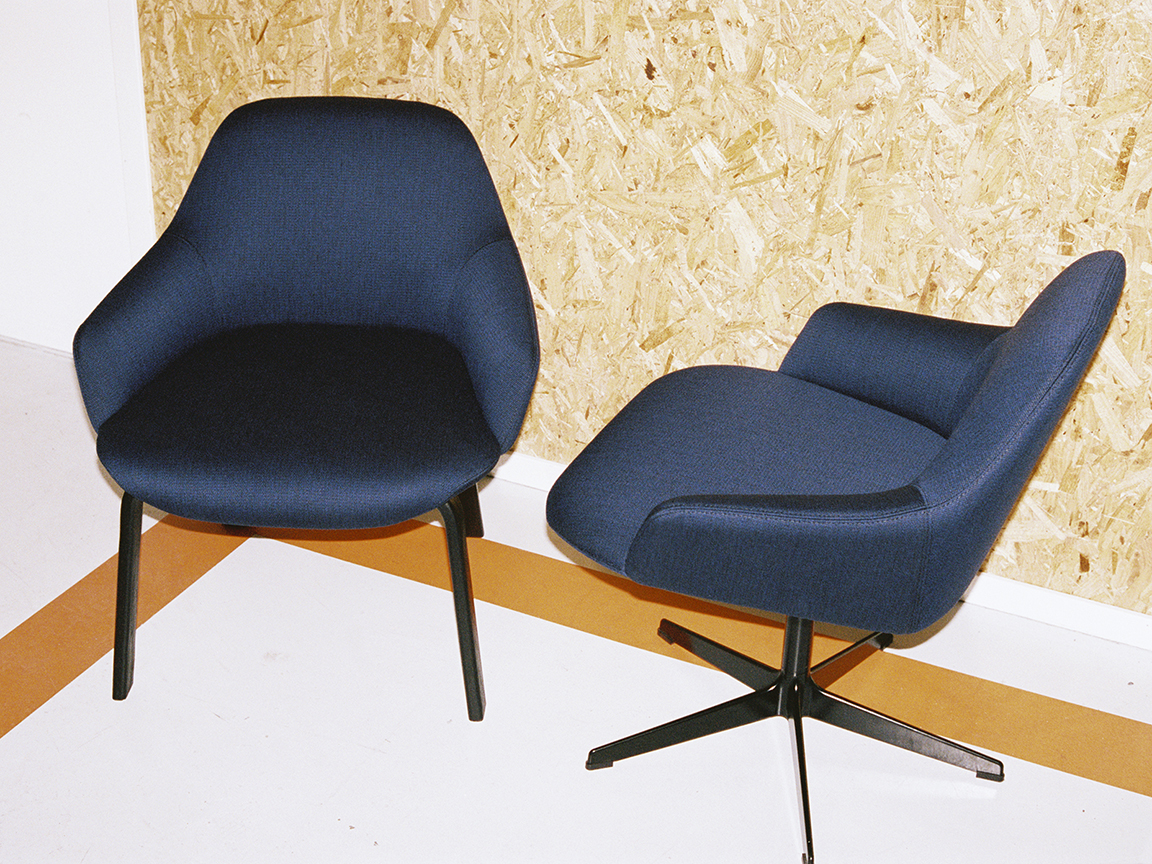 Hug armchair for Swedese - Exhibiting at Swedese, Stockholm Furniture Fair, Stand A15:28