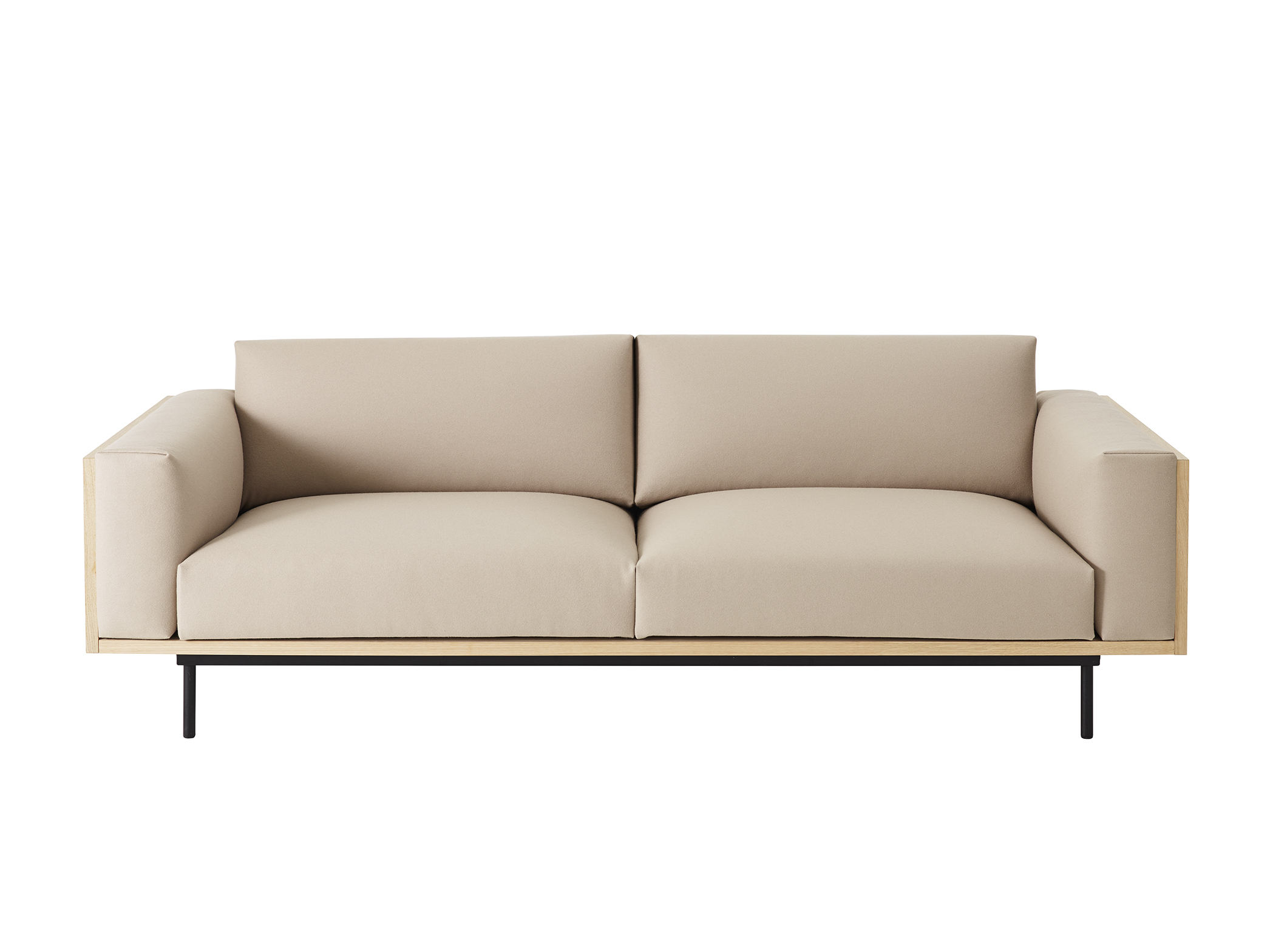 Wood sofa for Swedese - Exhibiting at Swedese, Milan Furniture Fair, Hall 16, Stand E26