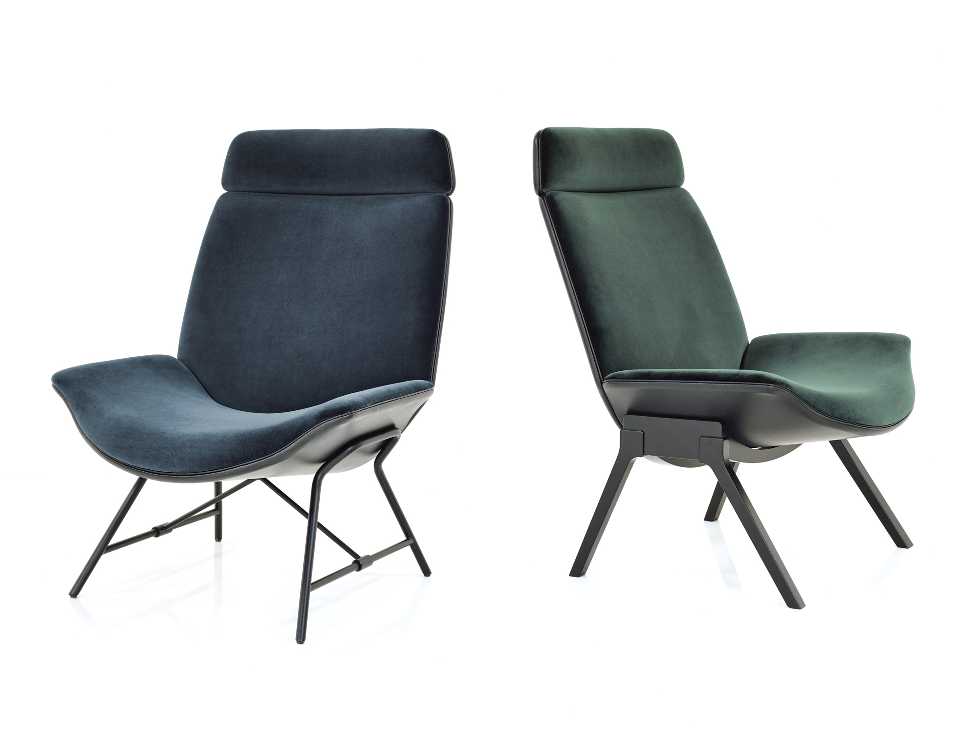 Melange Loungechair For Wittmann - New project launched at IMM Cologne 2018
