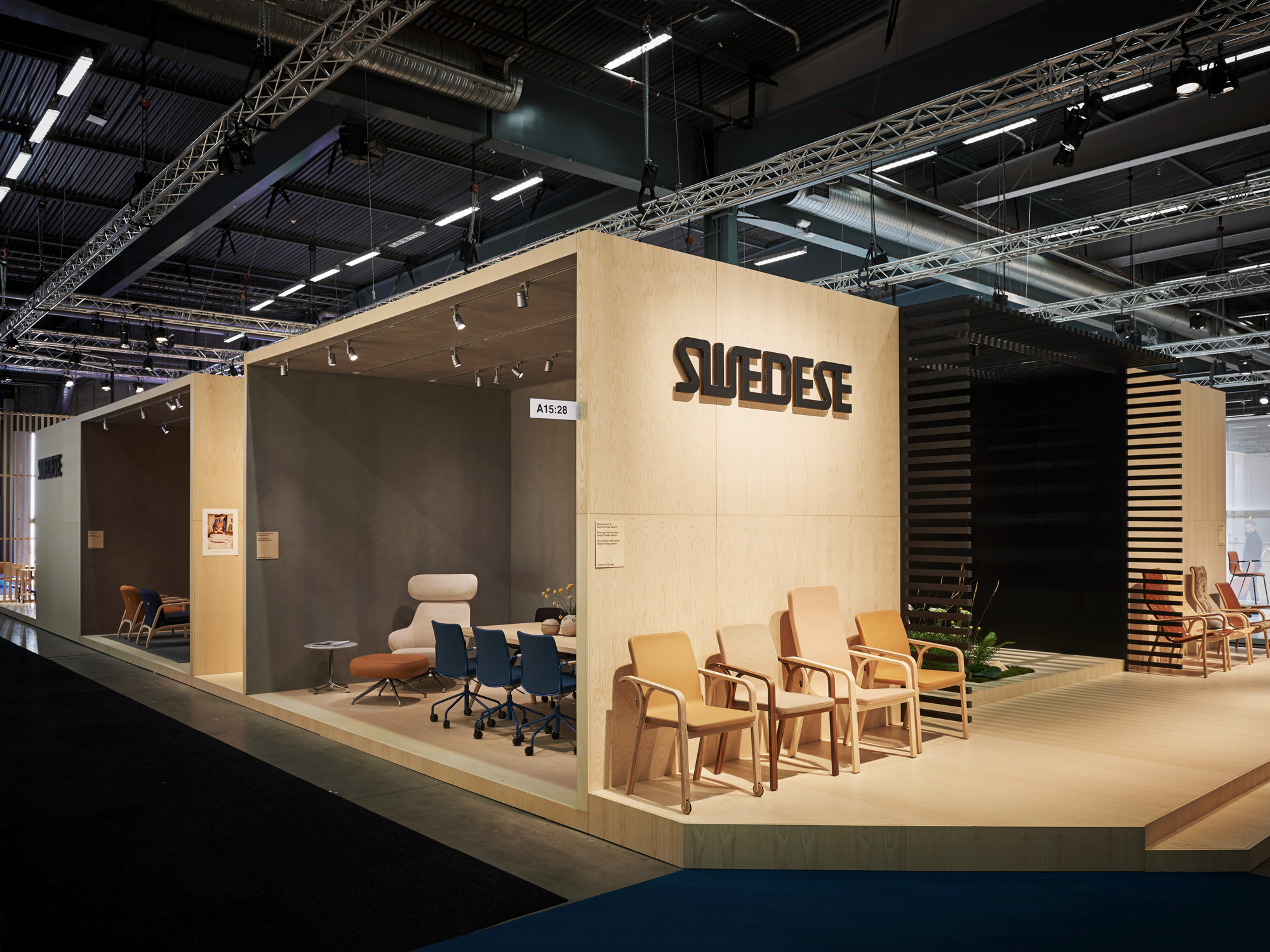 Stand Design For Swedese - New project launched in Stockholm Furniture Fair 2018