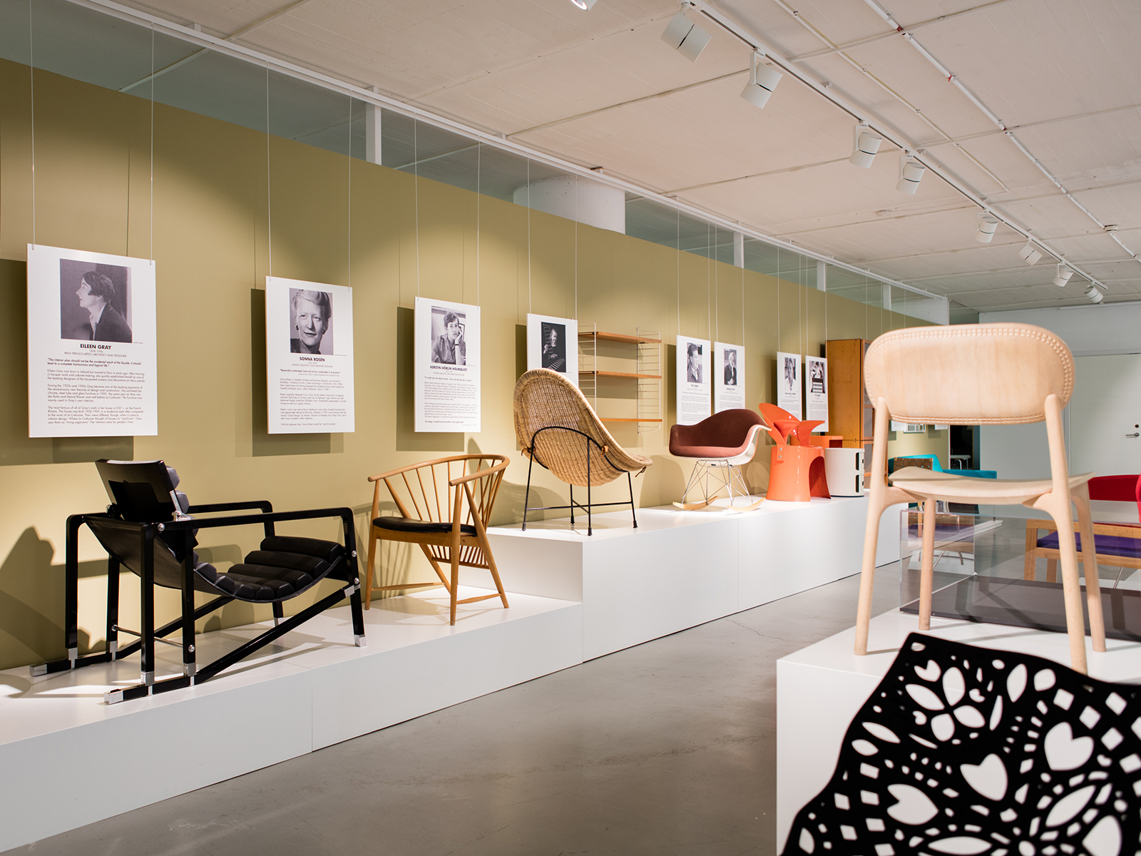 Female Traces - Exhibition at Möbeldesignmuseum in Stockholm until March 2020