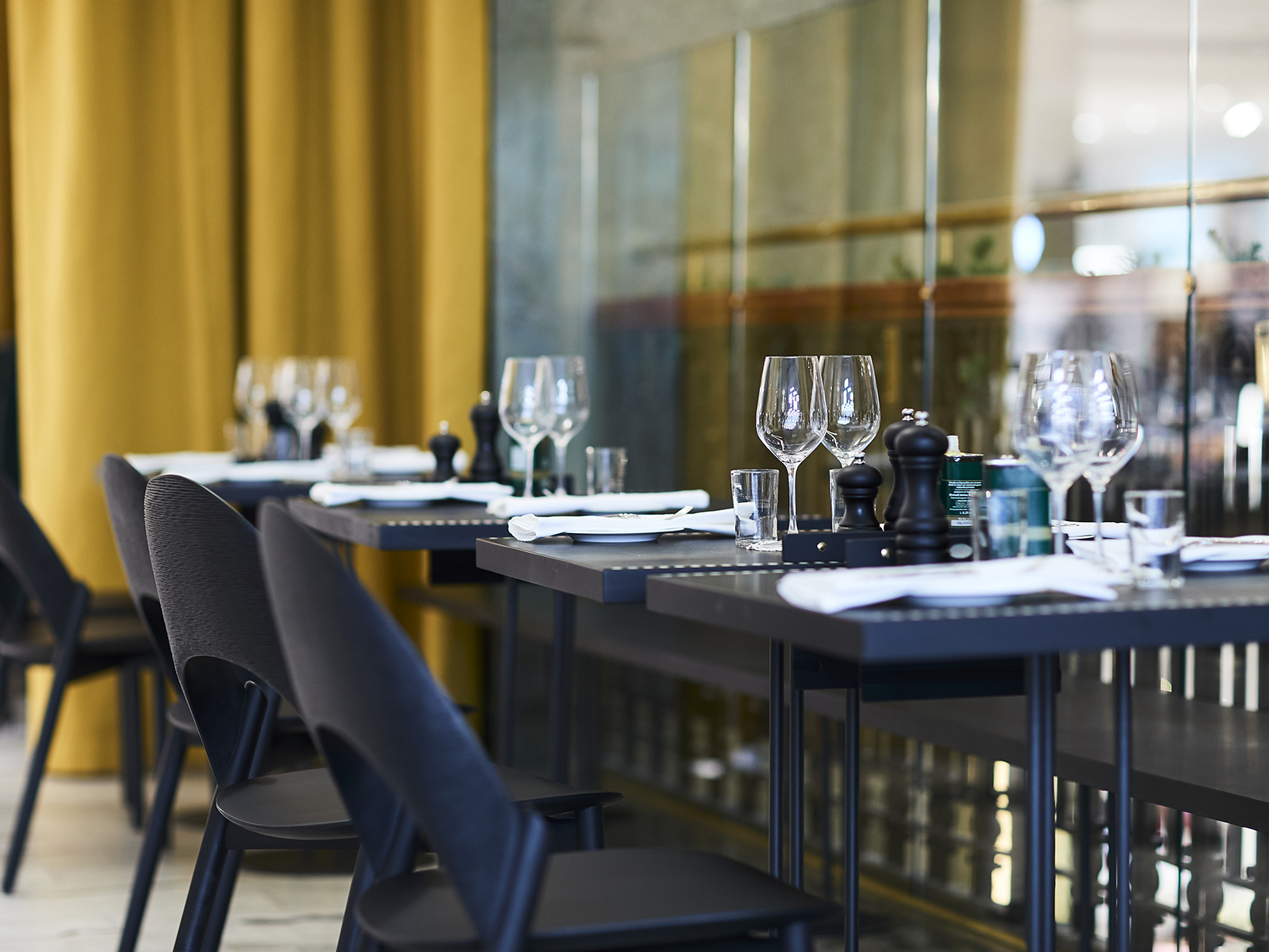 Positano Yes NK - New restaurant project located at NK, Stockholm opened Nov 2019