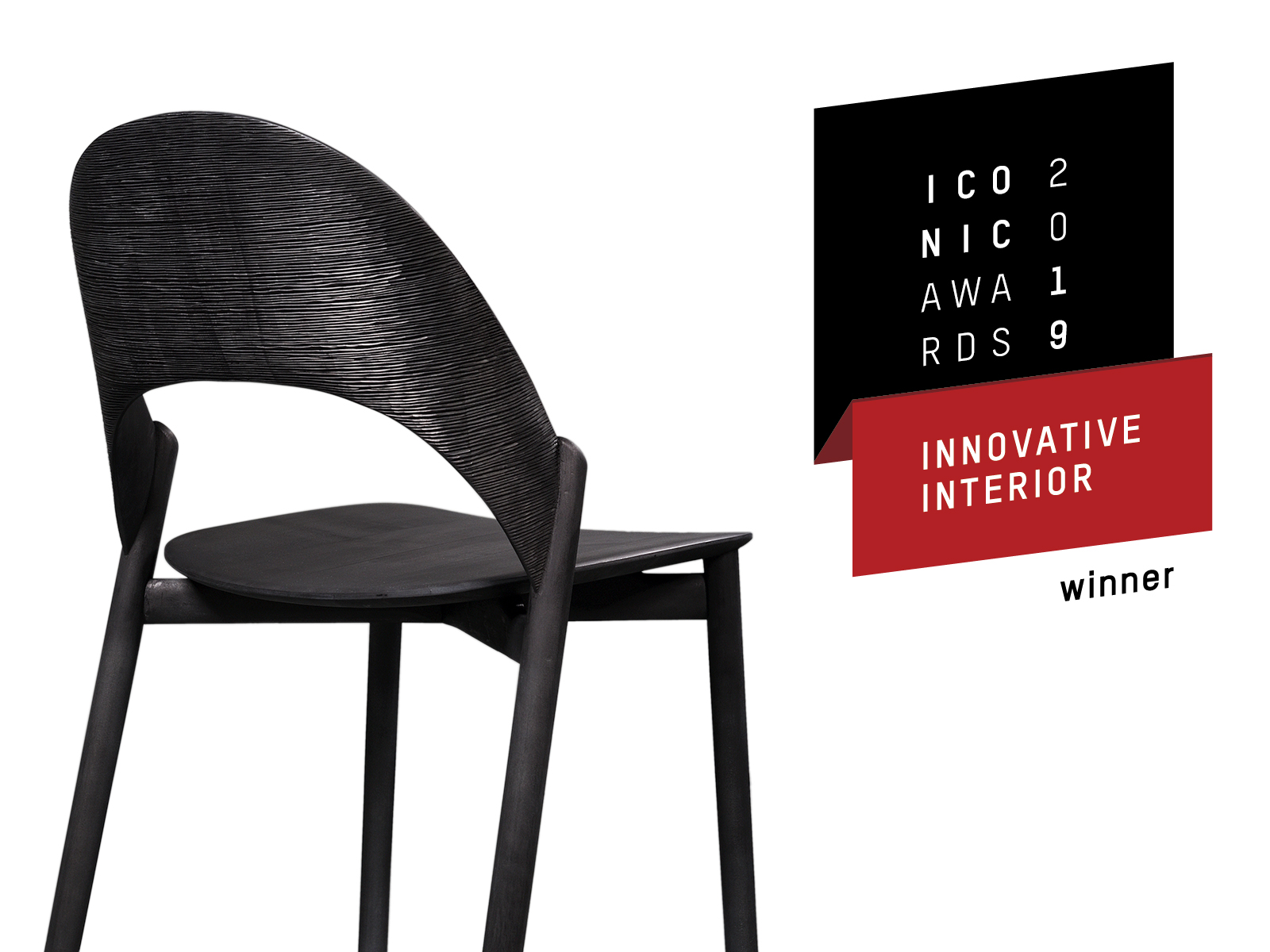 Iconic Awards 2019 - Sana chair for Zanat, Innovative Interior Winner 2019