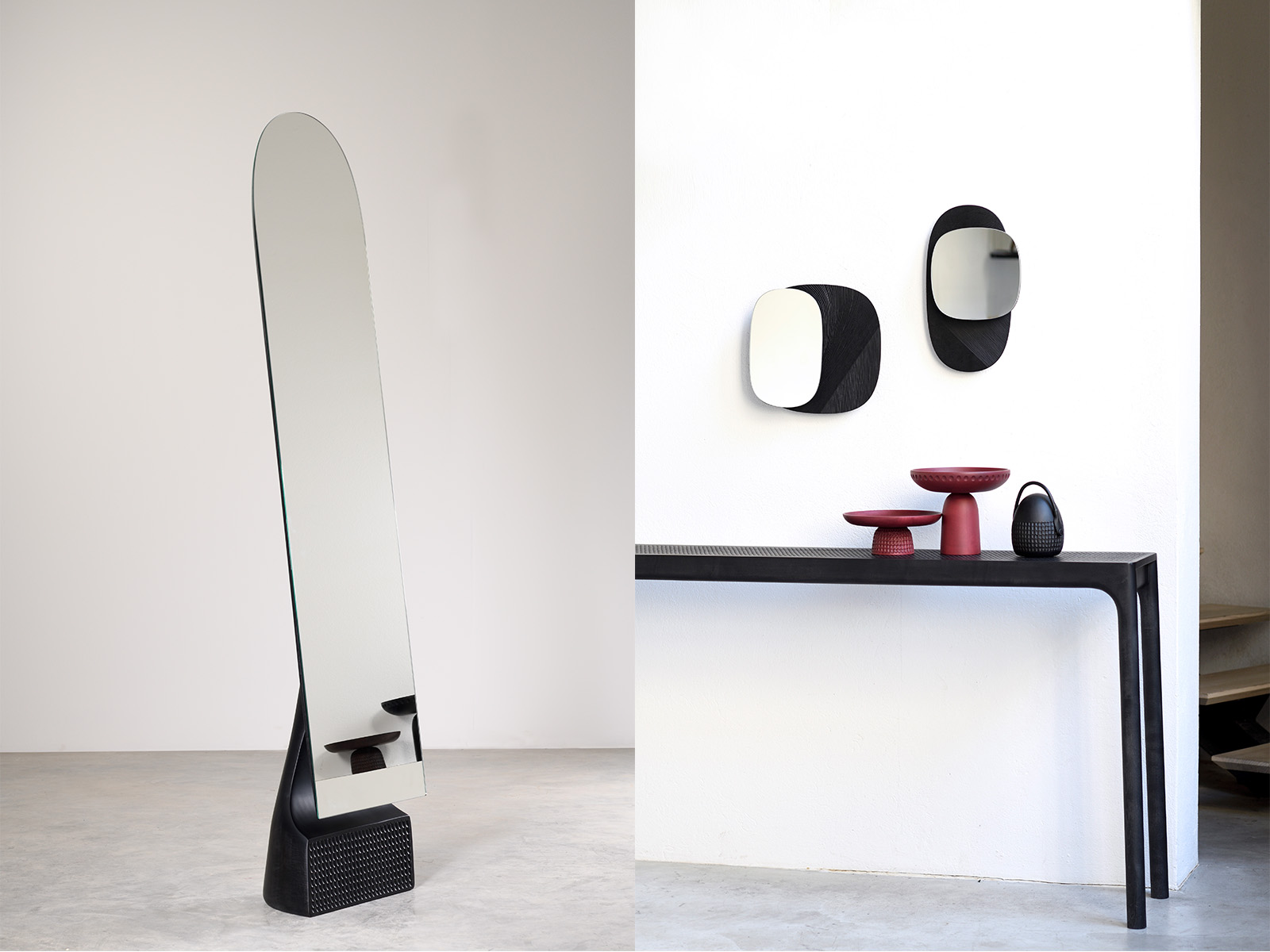 Wall and Standing Mirrors Collections - Two new collections of Mirrors for Zanat Launched Summer 2020