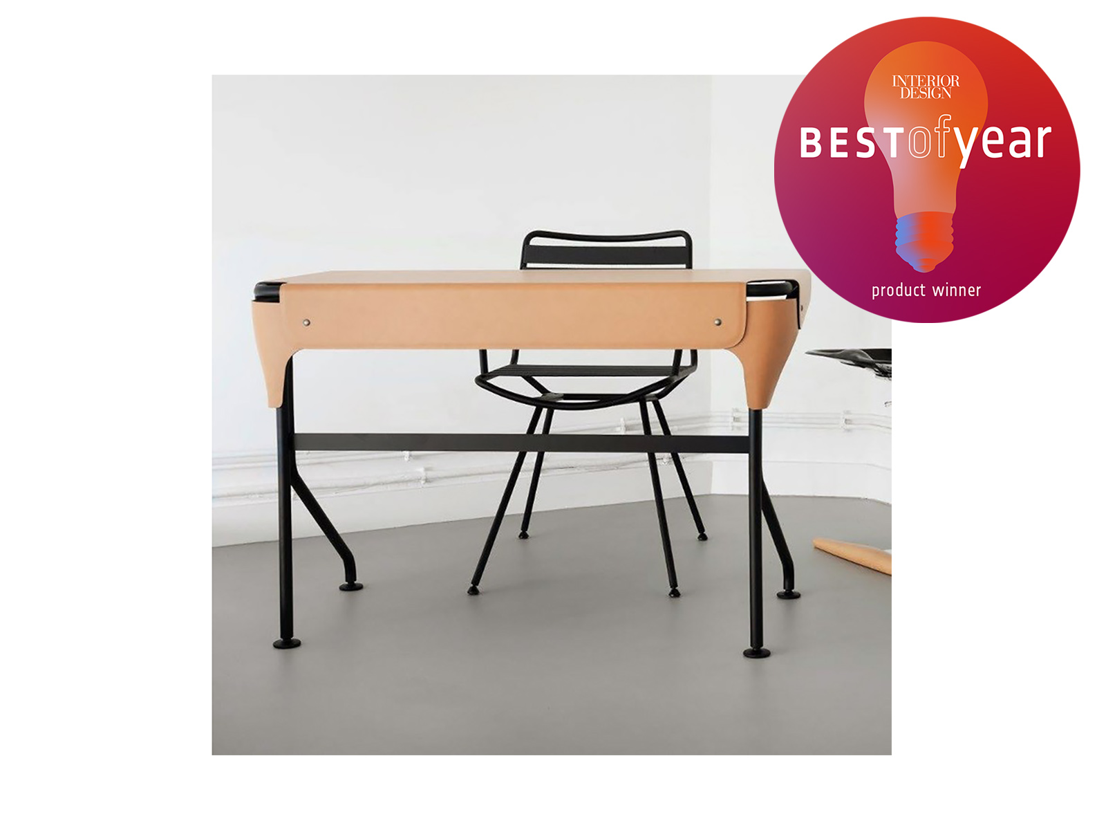 Best of the Year Award - Tucano Desk for Zanotta Awarded Best of Year Product Winner by Interior Design New York